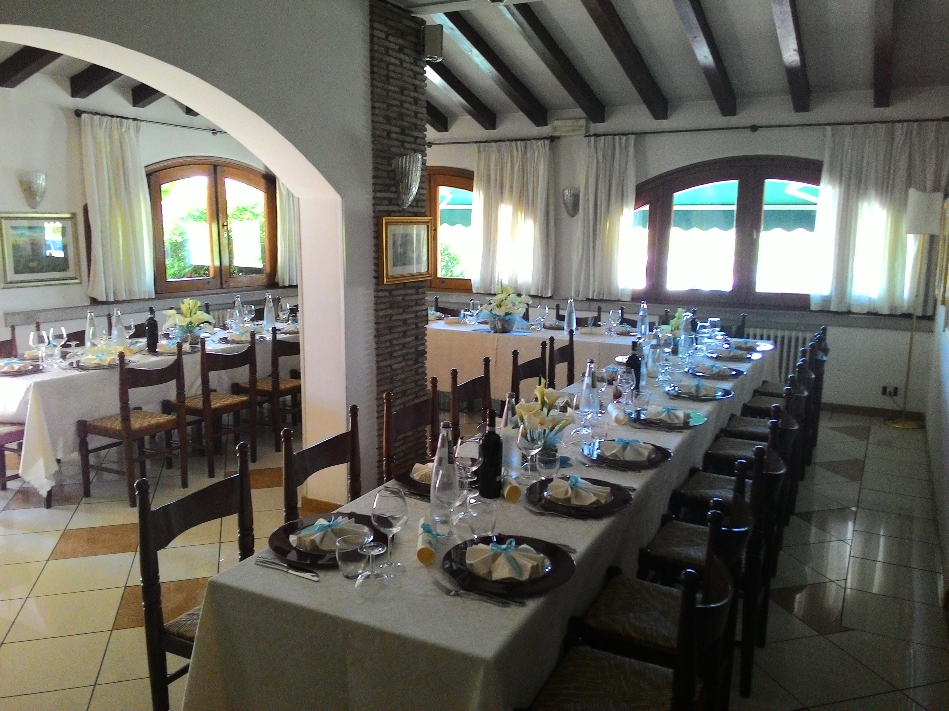 sala da pranzo alla botte